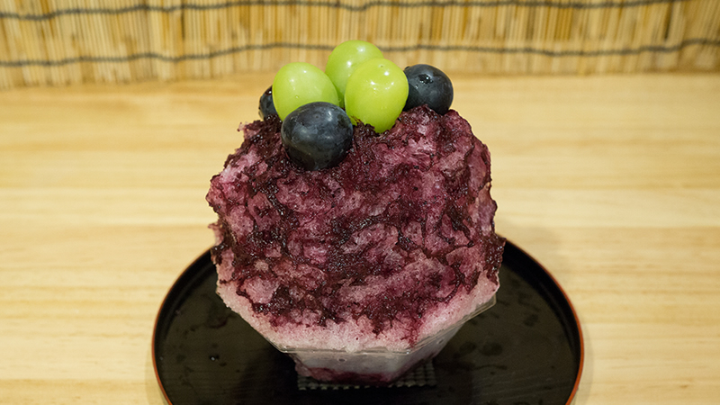 ナガノパープル ぶどう(果肉入り)